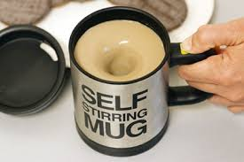 Self stirring mug india